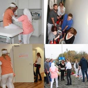 Collage_Brandschutzuebung_Betaklinikcampus